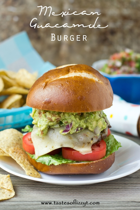 Mexican-Guacamole-Burger.-A-burger-with-Mexican-seasoning-and-homemade-guacamole