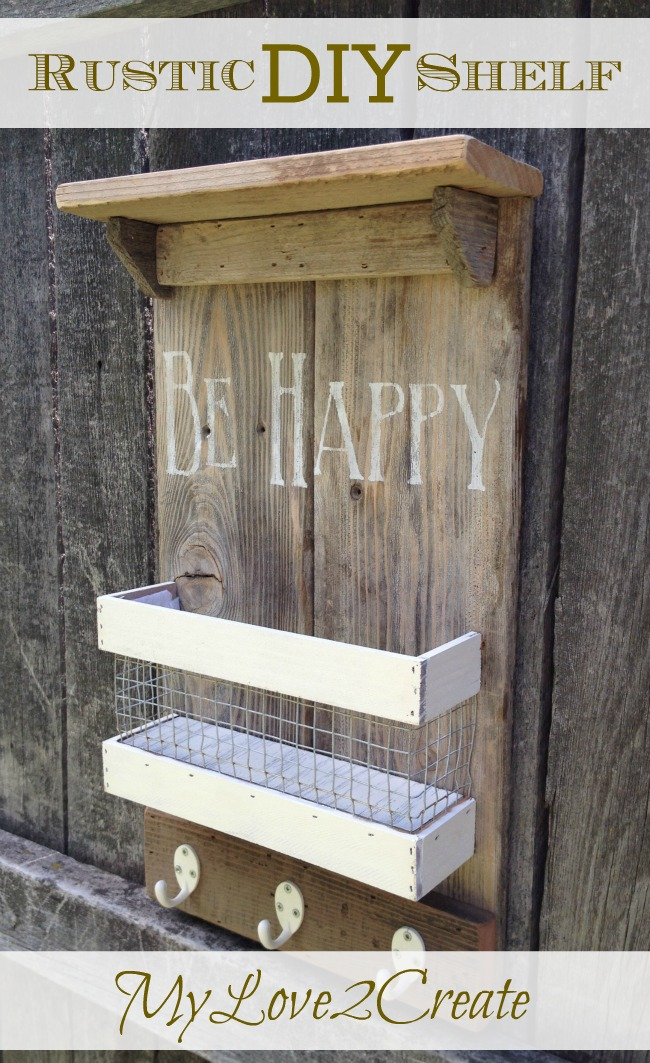 Rustic DIY Shelf