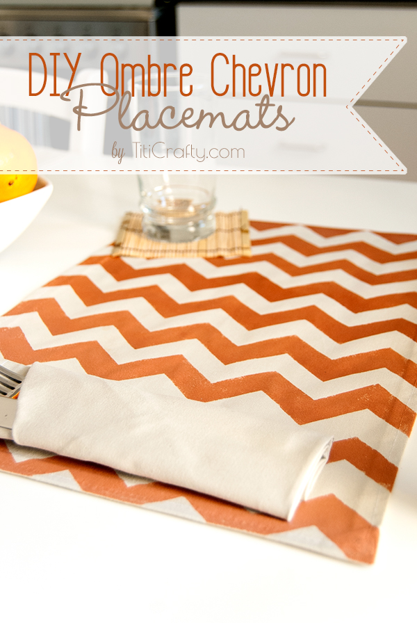 DIY-Ombre-Chevron-Placemats-Tutorial
