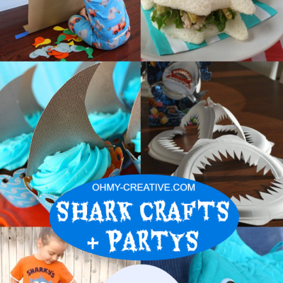 Shark Crafts And Shark Party Ideas | Shark Week