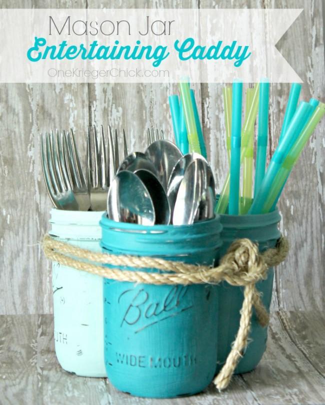 Ombre-Painted-Mason-Jar-Entertaining-Caddy-OneKriegerChick.com_