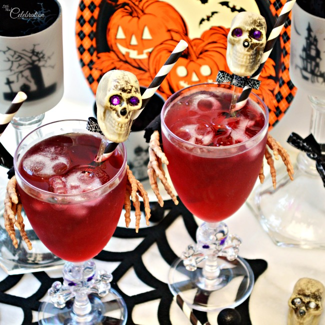 Hold My Glass DIY Skeleton Partyware