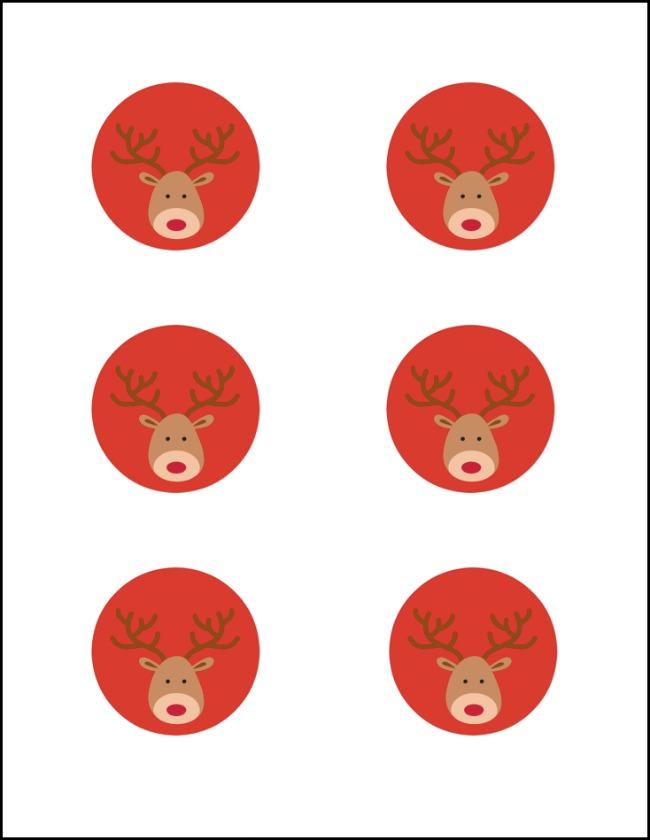 Reindeer Tag Free Printable | OHMY-CREATIVE.COM 5
