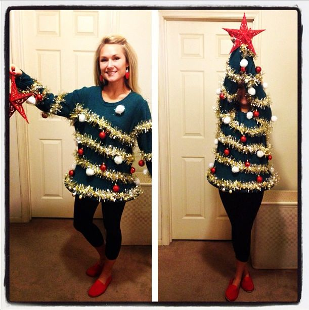 Ugly christmas jumpers - Christmas Tree ugly Sweater