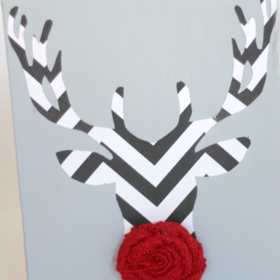 Red Nosed Christmas Reindeer Decorations