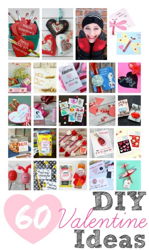 60 DIY Valentine Ideas | OHMY-CREATIVE.COM