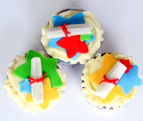 Preschool Graduation Cupcakes