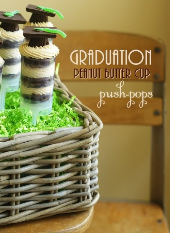 Graduation Party Pushup Pops