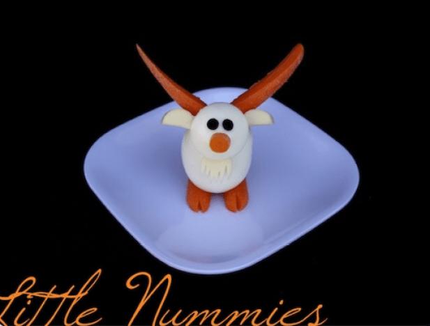 Hard Boiled Egg Goat