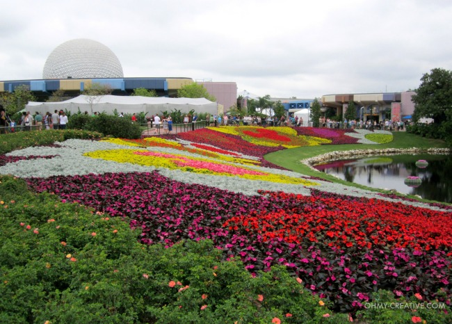 Flowers Epcot 2015 International  Flower and Garden Show  |  OHMY-CREATIVE.COM