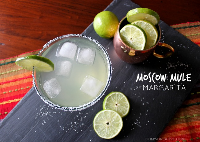 This Moscow Mule Margarita is a great twist to the very popular Moscow Mule! Made with tequila and fresh ingredients this drink is amazingly tasty.