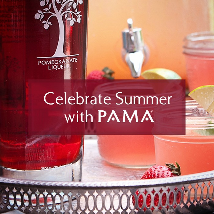 PAMA Celebrate Summer - This Pomegranate Liqueur makes so many tasty summer drink recipes  |  OHMY-CREATIVE.COM
