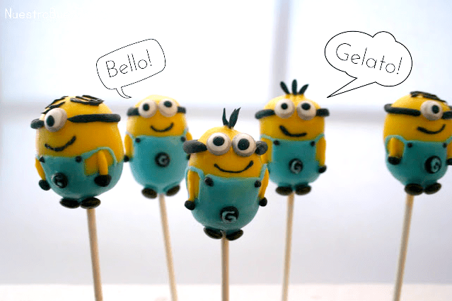 How To Make Minions Cake Pops