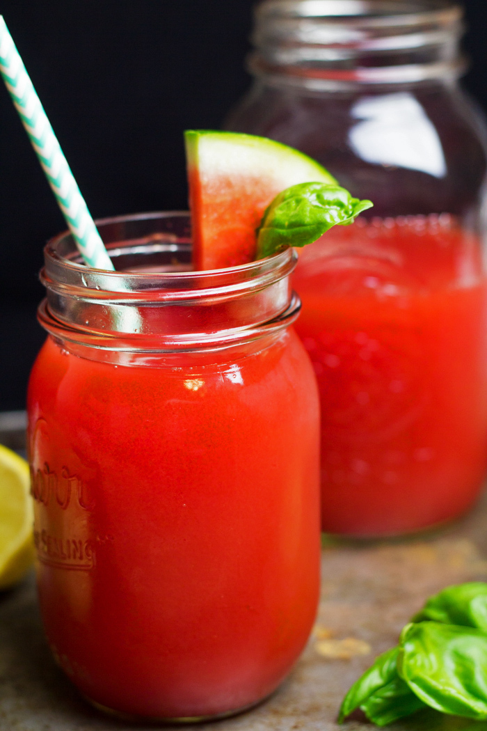 Watermelon Basil Moonshine