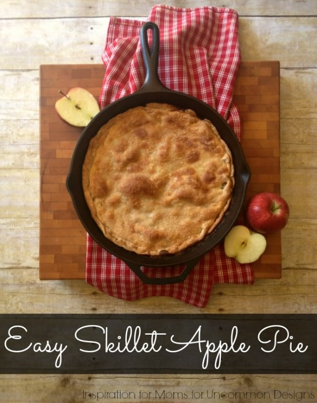 Easy Skillet Apple Pie