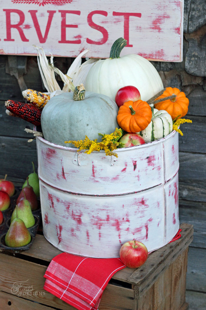 Rusting Fall Decorating Ideas