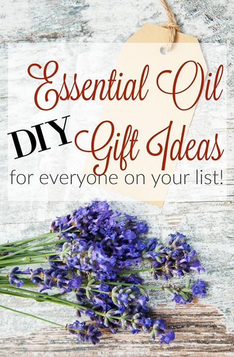 DIY Essential Oil Gifts Ideas For everyone on you list! | OHMY-CREATIVE.COM