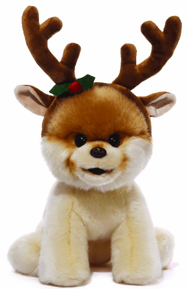 Gund Boo 'The World's Cutest Dog' Plush with Antlers