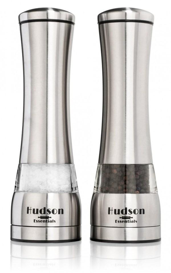 Hudson Essentials Deluxe Salt and Pepper Grinder Set