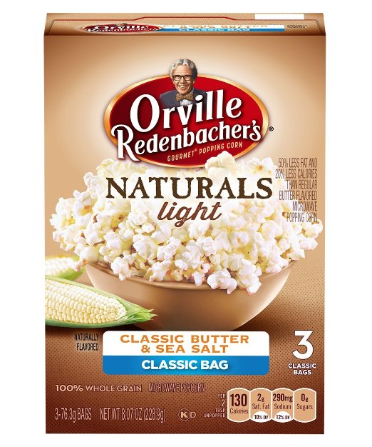 Orville Redenbacher's Naturals light popcorn