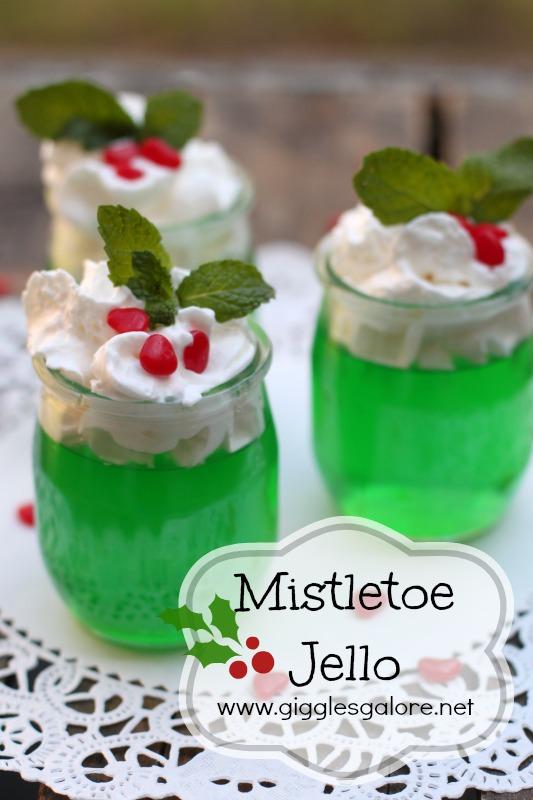 Mistletoe-Jello-Dessert