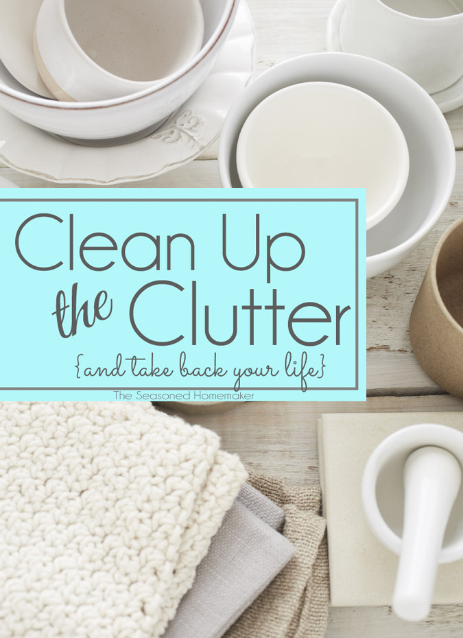 Clean up the clutter