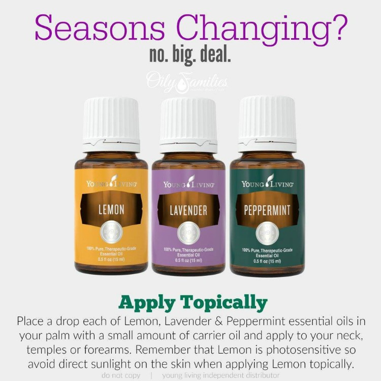 How To Use Essential Oils For Seasonal Challenges and relief! 5 best aromatherapy essential oils that will help soothe airborne irritating particles!   OHMY-CREATIVE.COM