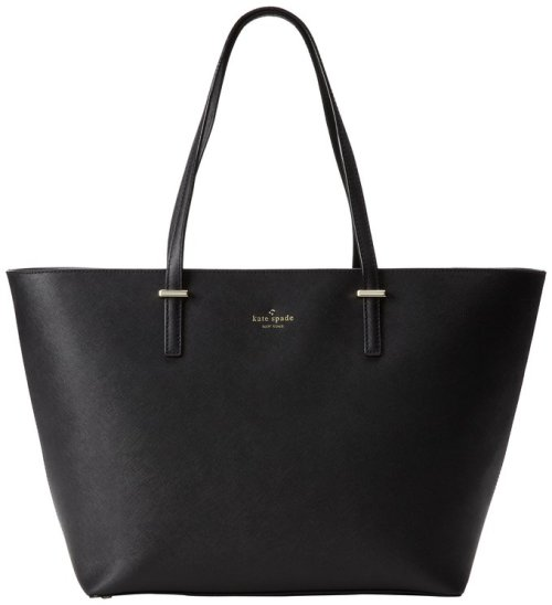 Kate Spade New York Cedar Street Medium Harmony Tote Black - Senior Graduation Gifts for Her | OHMY-CREATIVE.COM