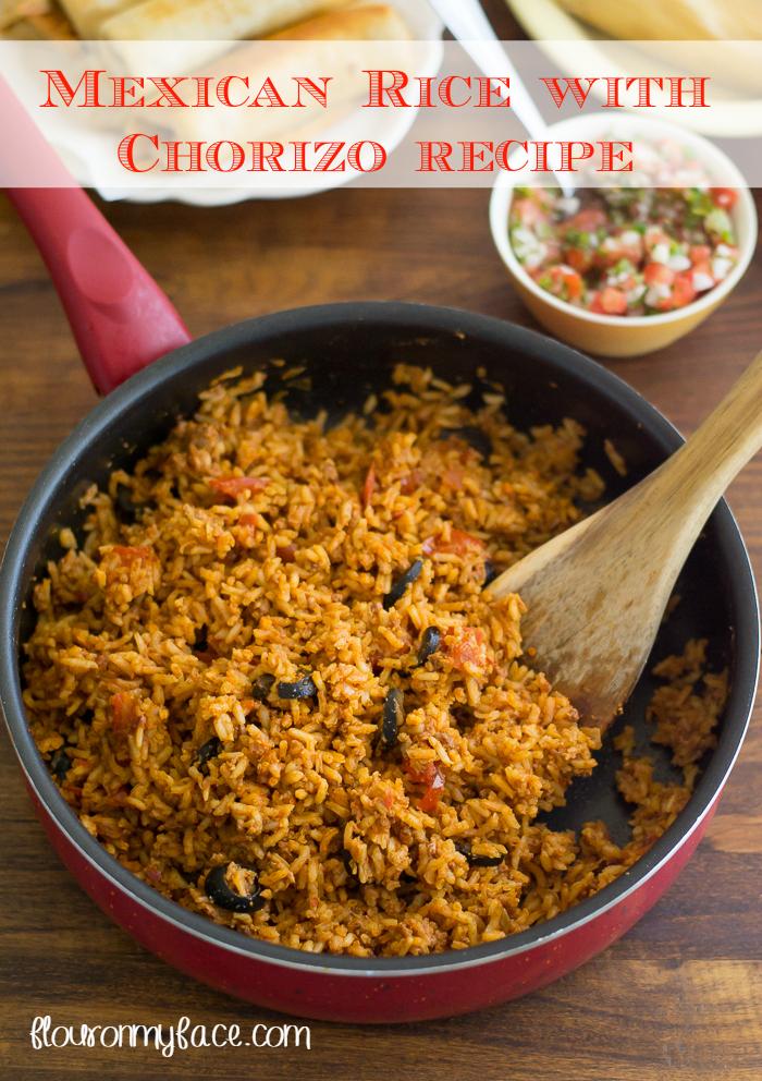 Rice with Chorizo recipe