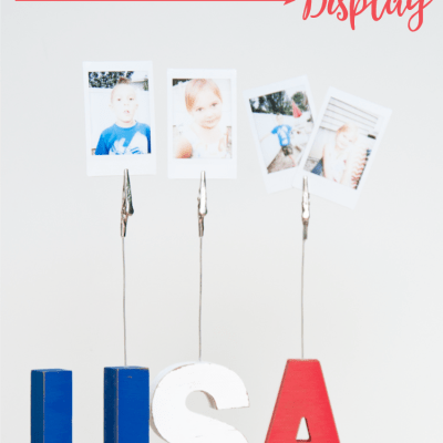 Patriotic USA Sign Display