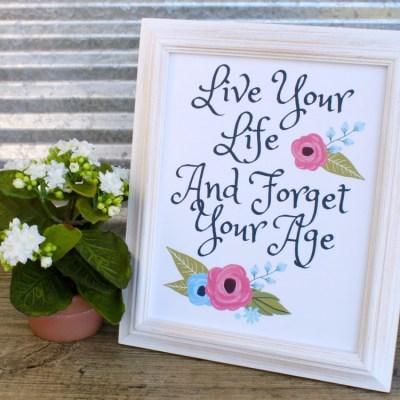 Life Inspirational Quotes Free Printable