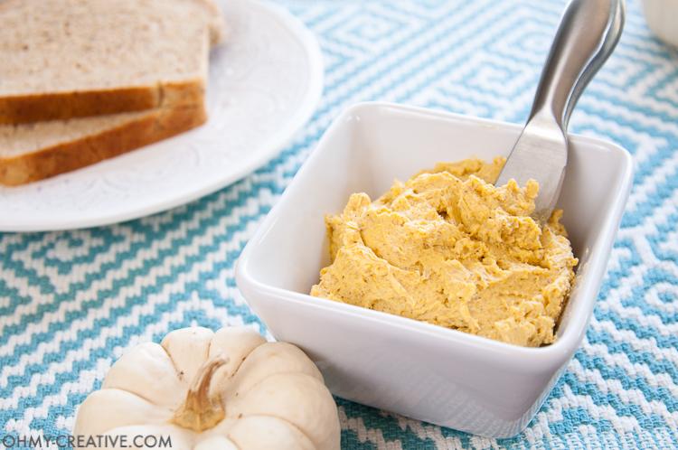 Pumpkin Spice Honey Butter Recipe | Honey and Butter | Honey Butter | Honey Butter Spread | Pumpkin Butter Spread |  OHMY-CREATIVE.COM