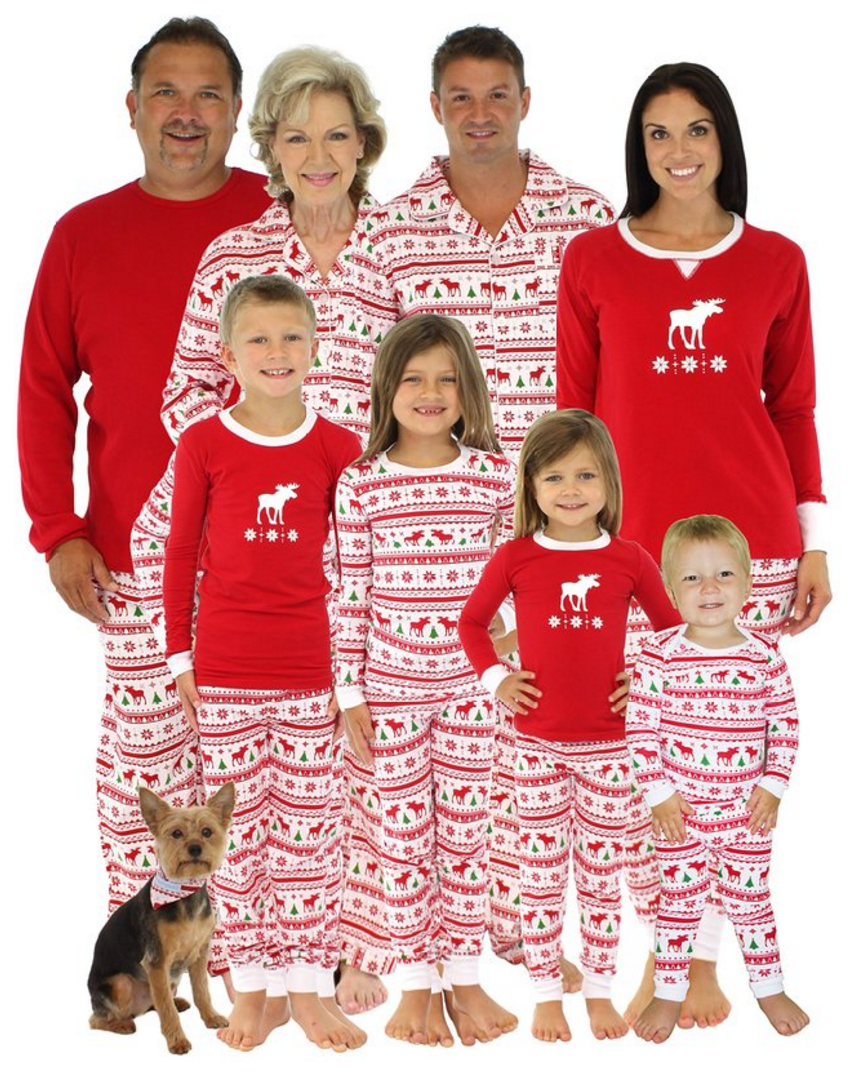 287e94339fe0 Create a memorable Christmas with these fun Family Christmas Pajamas. What  a great Christmas Eve