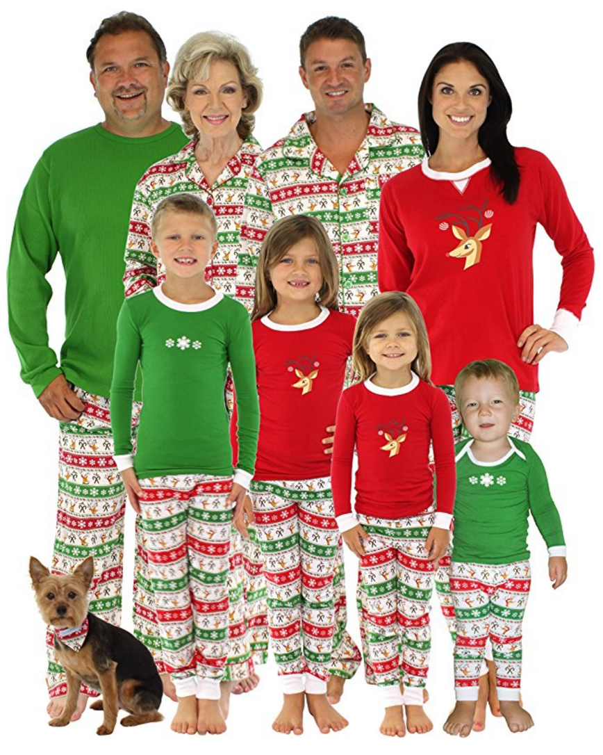 Create a memorable Christmas with these fun Family Christmas Pajamas. What  a great Christmas Eve 19f43cbed