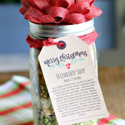 Friendship Soup In A Jar Gift