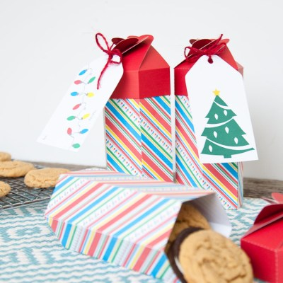 DIY Cookie Box Gift Printable