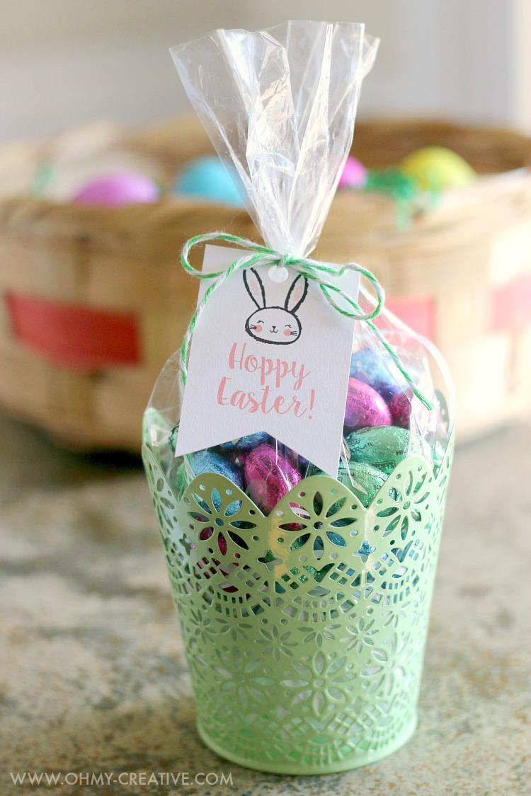 Free Printable Hoppy Easter Gift Tags