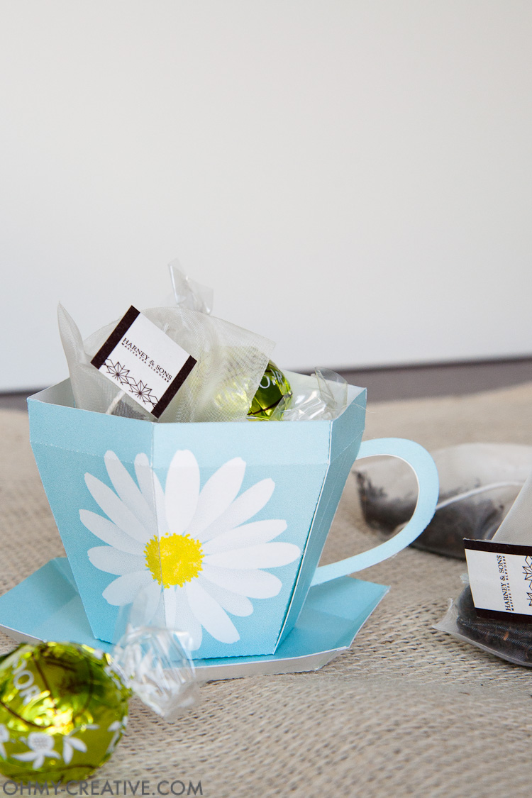 Tea Oil Uses: Tea Cup Gift - Oh My Creative