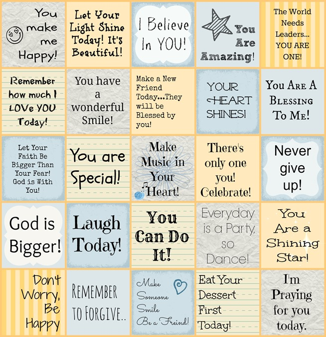 photograph relating to Lunch Box Jokes Printable known as 10 Free of charge Printable Lunchbox Notes - Oh My Inventive