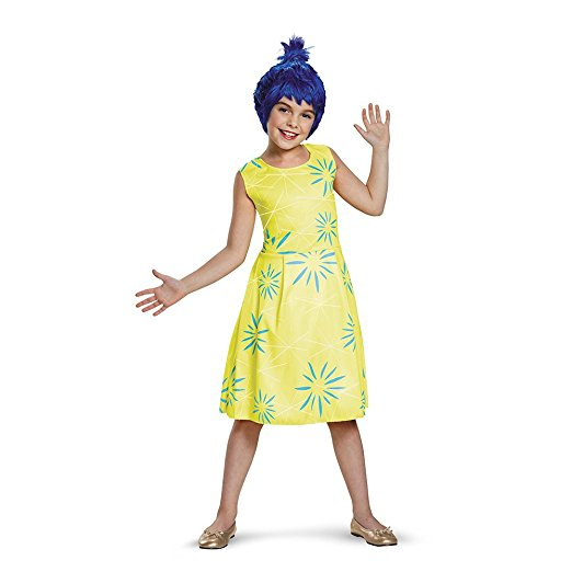 25 Disney Costume Ideas   OHMY-CREATIVE.COM   DIY Costumes   DIY Halloween   DIY Halloween Costumes   Amazon Costumes   Best DIY Halloween Costumes   Joy from Inside Out Costume  