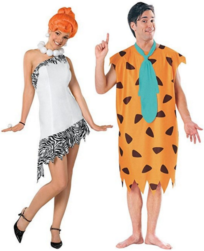The Flintstones Wilma Costume | Fred Flintstone Costume | 50 Couples Halloween Costume Ideas  sc 1 st  Oh My Creative & 50 Couples Halloween Costume Ideas - Oh My Creative