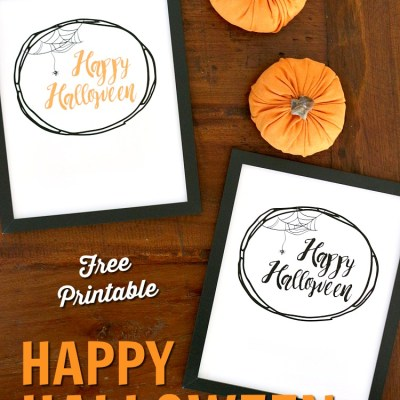 {Happy Halloween} Free Halloween Printables