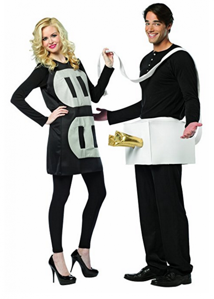 Amazing Plug And Socket Couples Costume | 50 Couples Halloween Costume Ideas
