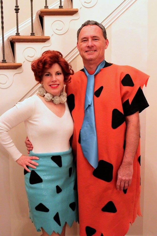 The Flintstones | Fred and Wilma Flintstone Halloween Costumes | 50 Couples Halloween Costume Ideas