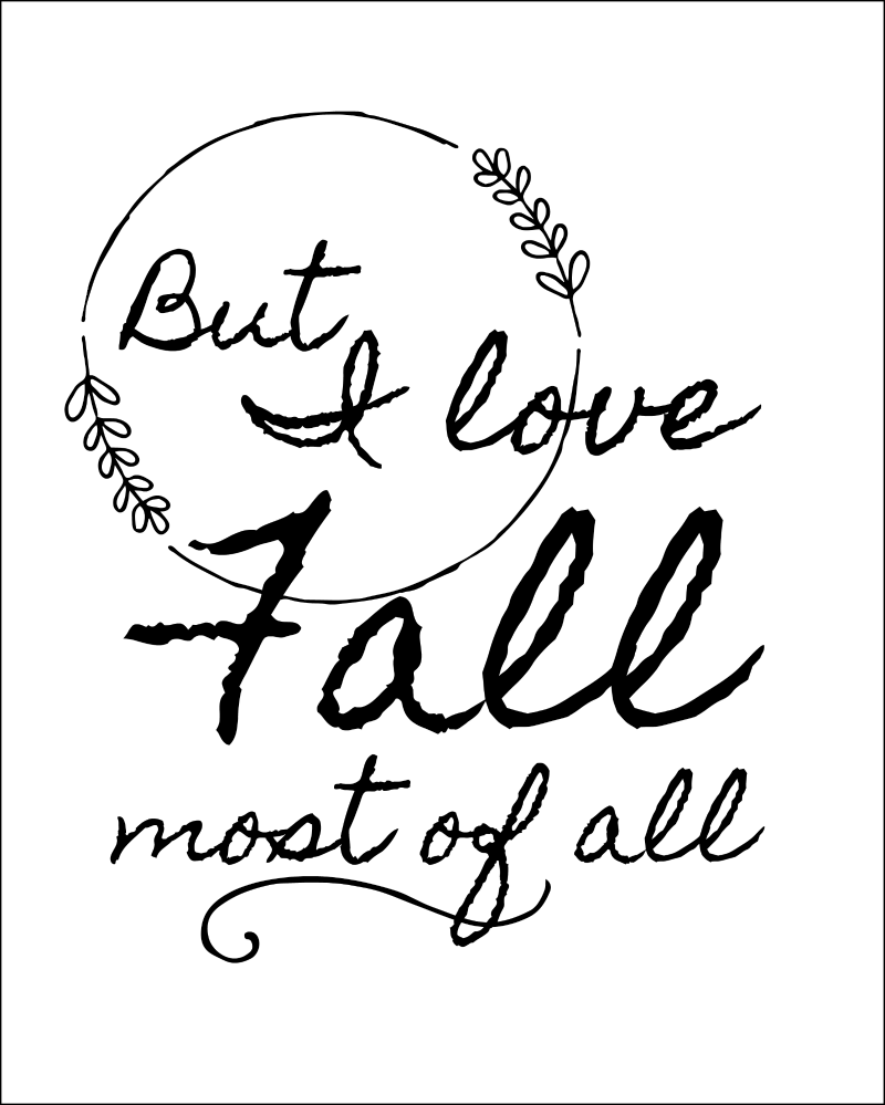 Printable Love Quotes And Sayings: Fall Quotes Free Printables For Autumn