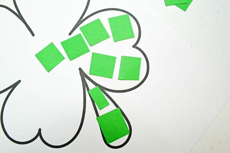 Shamrock Template Free Printable | St Patrick's Day activities | St Patrick's Day Crafts | St Patrick's Day Crafts for Preschoolers | St. Patrick Day Crafts for kids | St. Patricks day Crafts for Toddlers | Shamrock Coloring Page | Cut and Paste Craft | St Patrick's Day coloring Pages