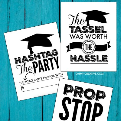 Fun Graduation Party Printables to Celebrate Your Favorite Grad!