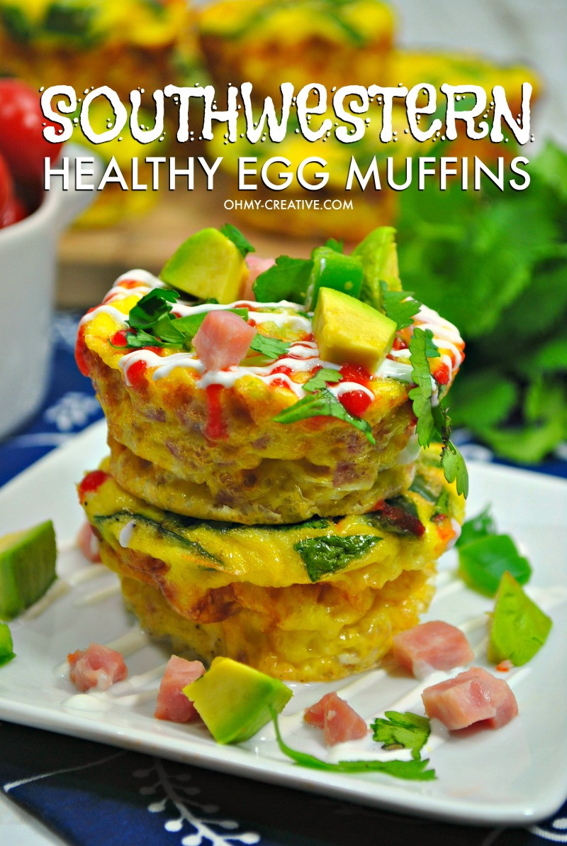 Southwestern Healthy Egg Muffins recipe
