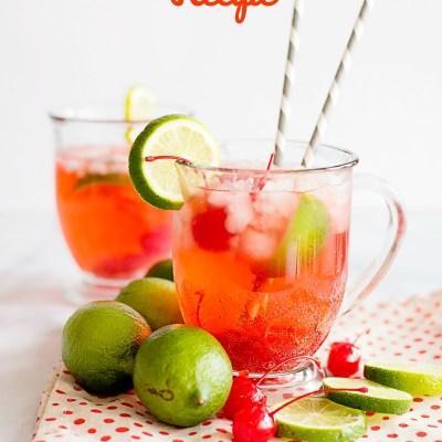 Refreshing Cherry Limeade Recipe
