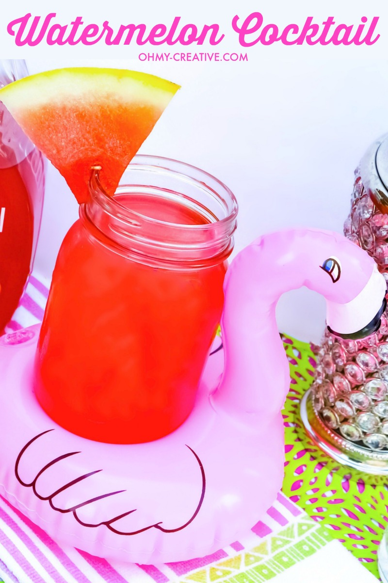 Refreshing Watermelon Cocktail Recipe